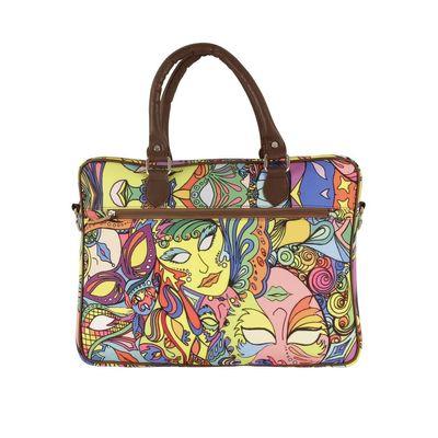 Mardi Gras laptop bag