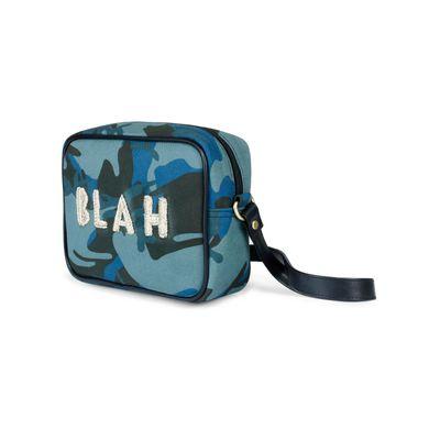 'BLAH' Camouflage sling bag