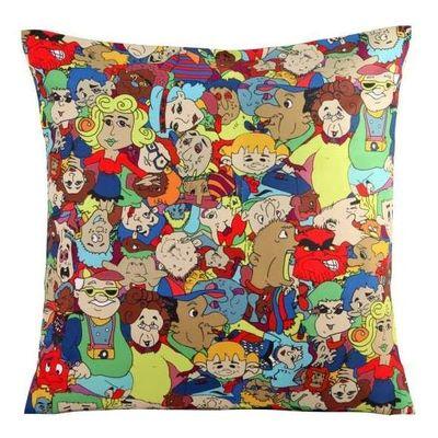 Cartoon cushion cover