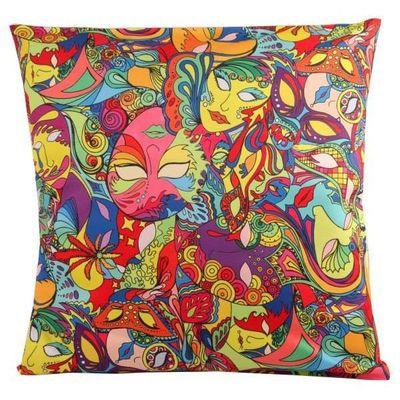 Mardi Gras cushion cover