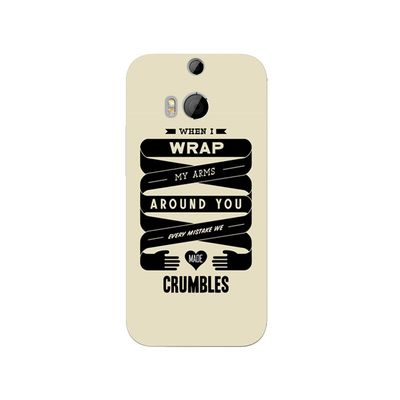 Love crumble mobile cover
