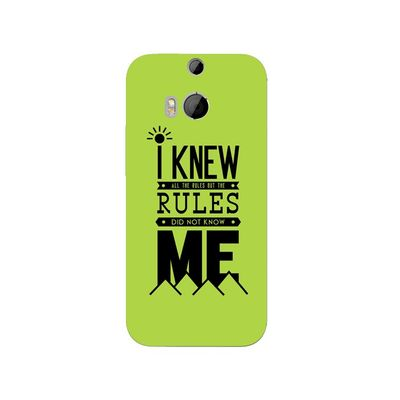Rules mobile cover