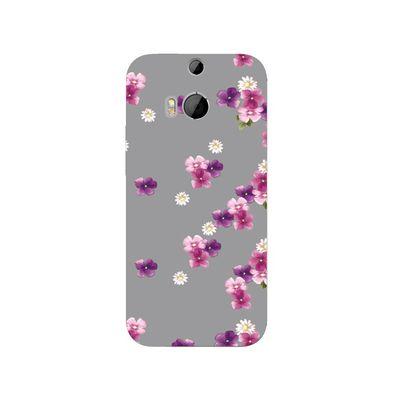 Vintage floral HTC mobile cover