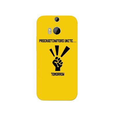Procrastinators mobile cover