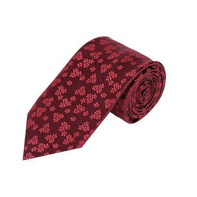 Tiekart men maroon floral tie