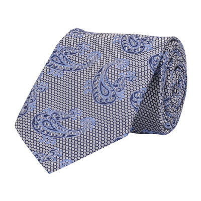 Tiekart men blue paisley tie
