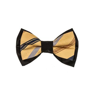Tiekart men brown bow tie