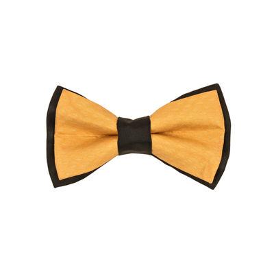 Tiekart men orange   bow tie