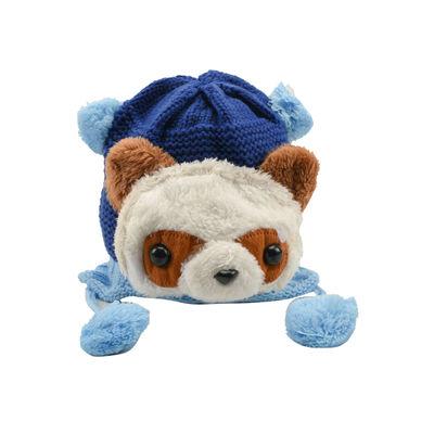 Tiekart kids blue woollen cap