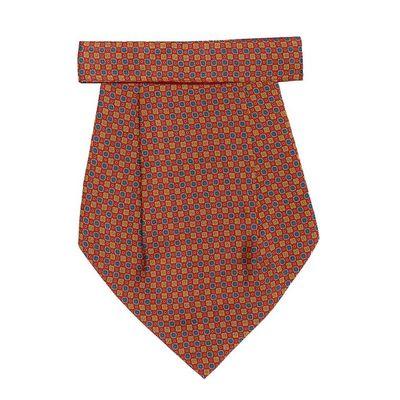 Tiekart men multi floral silk cravat