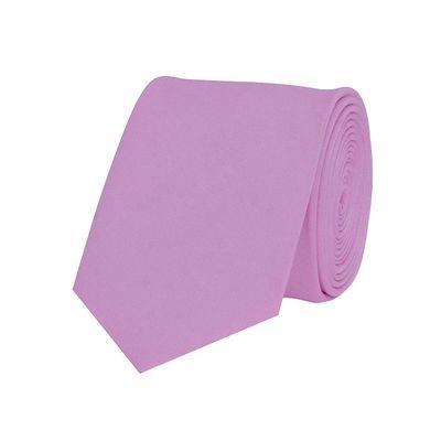 Tiekart men purple plain solids  skinny slim tie