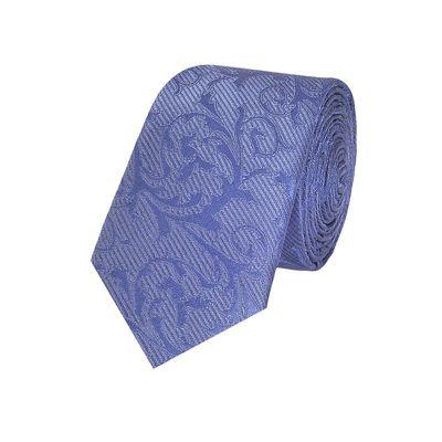 Tiekart men blue floral skinny slim tie