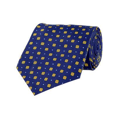 Tiekart men blue paisely silk tie