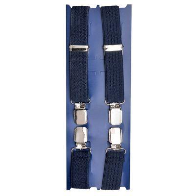 Tiekart men blue suspenders