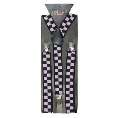 Tiekart men multi suspenders