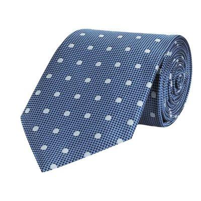 Tiekart men blue polka dot  tie