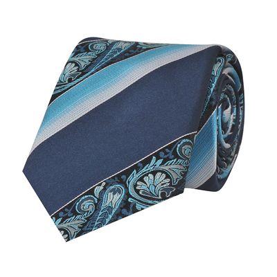 Tiekart men multi floral woven silk tie