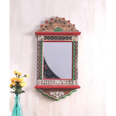 Handpainted Warli Mirror