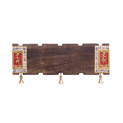 Ethnic Dhokra Customizable Handcrafted Name Plate