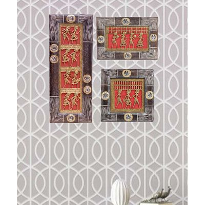 Dhokra Wall Hangings Set
