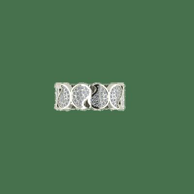Designer Motif wedding band