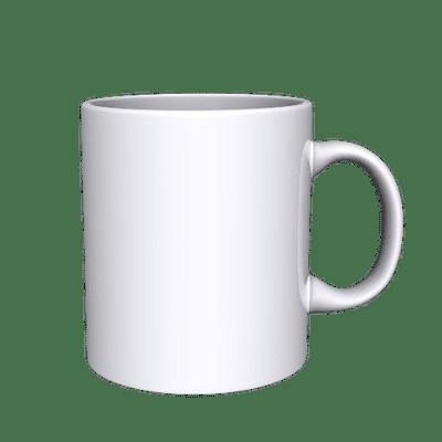 Customized Photo Mugs- White