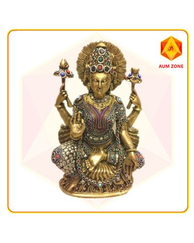 Lakshmi in Brass
