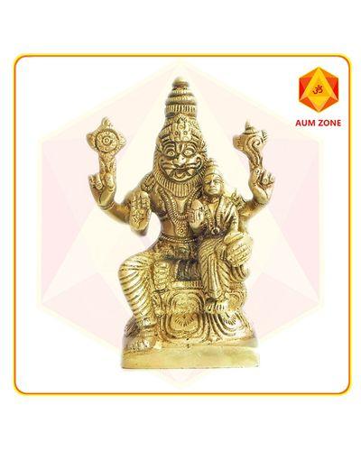 Narasimha in Brass