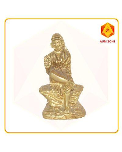 Sai Baba Big Brass Murthi