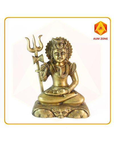 Shiva in Brass(1.66kgs)
