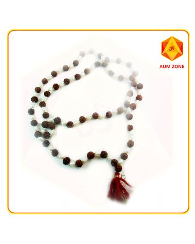 Rudraksh Mala with Pearl
