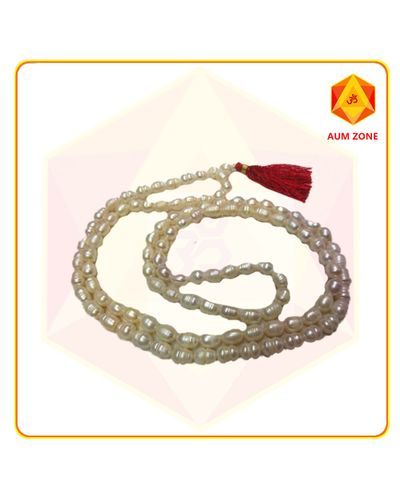 Natural Fresh Water Pearl Jap Mala 9 mm