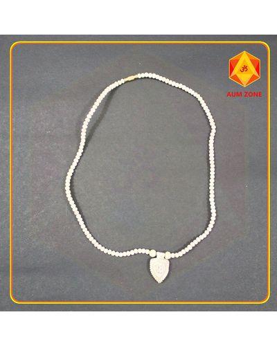 Tulsi Chain Round Bead Radha Pendant