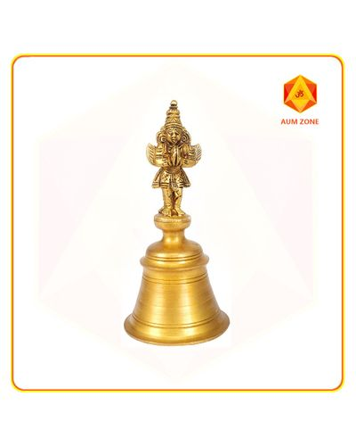Bell with Hanuman 4 inches