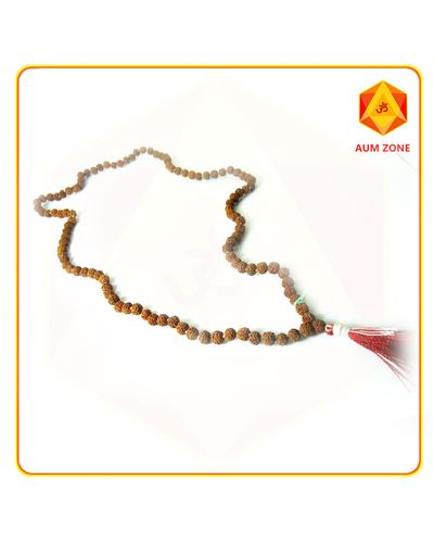 Rudraksh Jap Mala 9 mm  (108 + 1 Beads)