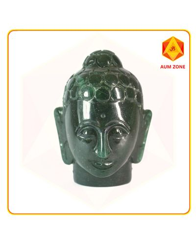 Green Jade Buddha Head