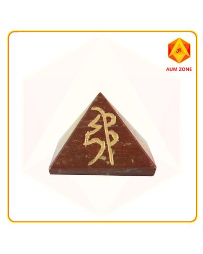 Red Jasper Reiki Pyramid