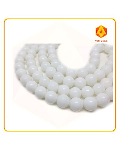 White Agate 8 mm