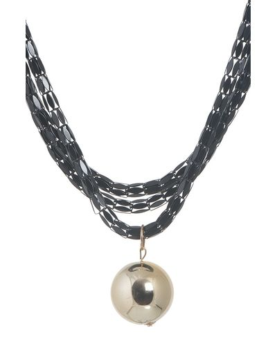 Golden Bead Necklace