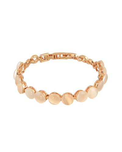 Glazed Golden Toned Bracelet