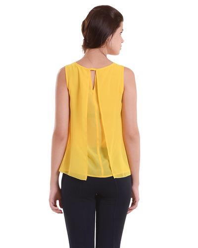 Yellow Layered Top