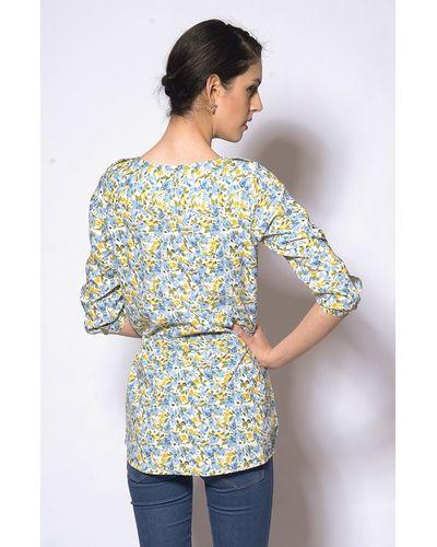 Flowery Print Tunic