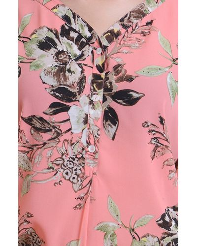 Blush Pattern Top