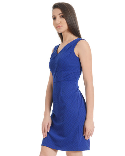Blizzard Blue Shift Dress