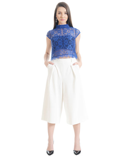 Zaffre Crop Top
