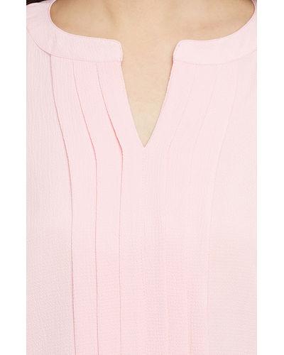 Soft Pink Panel Top