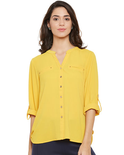 Sunshine Yellow Top