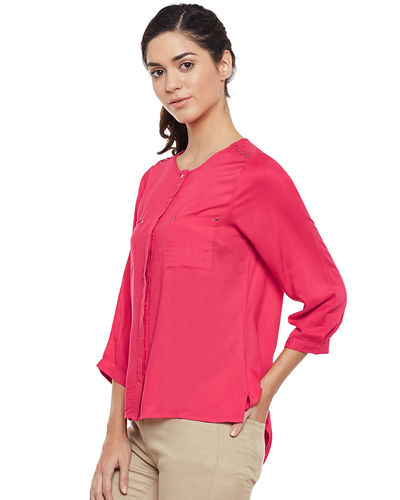 Pink Punch Hi-Lo Top