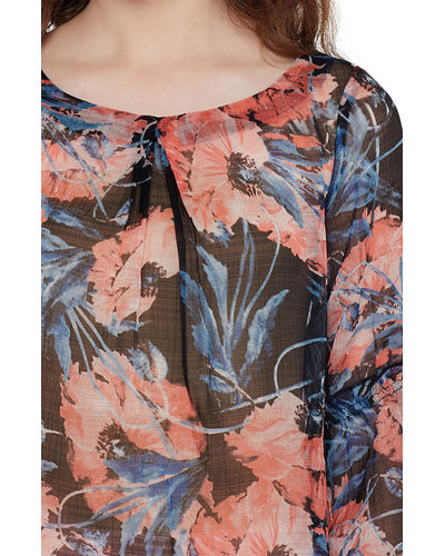 Pink Canvas Print Abstract Top