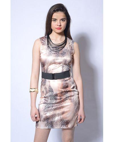 Skin Print Dress